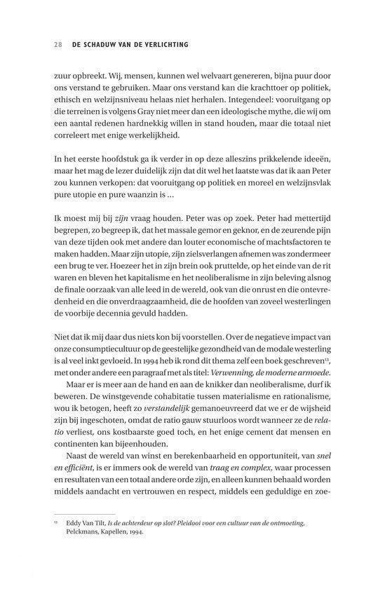 bol.com   De schaduw van de verlichting, Eddy van Tilt ...