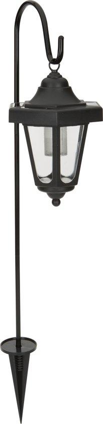 Smartwares GOS-001-DB Buitenlamp op zonne-energie met sensor/bewegingsmelder - 2 lichts- zwart