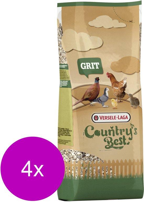 Versele-Laga Country`s Best Grit - Kippenvoer - 4 x 2.5 kg