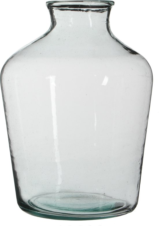 Mica Decorations fles vienne glas maat in cm: 41 x 23 transparant 10 liter