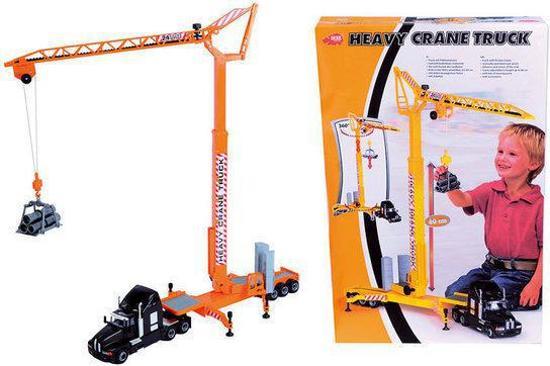 Dickie Heavy Crane Truck