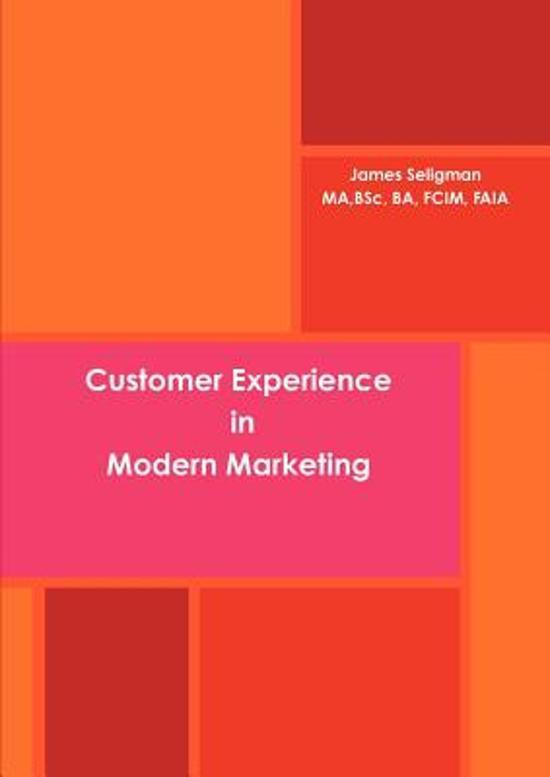 Customer Experience in Modern Marketing