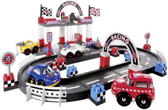 ecoiffier abrick racebaan 94st speelgoed. Black Bedroom Furniture Sets. Home Design Ideas
