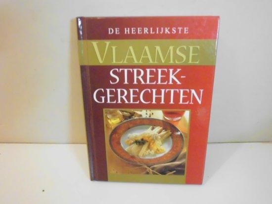 Boek cover Heerlijkste vlaamse streekgerechten van Verheyden Filip (Hardcover)