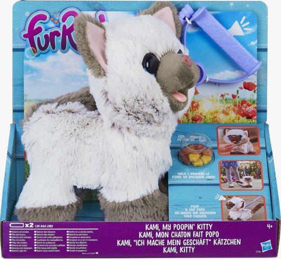 FurReal Friends Kami, Mijn Kat Moet Nodig - Interactieve knuffel