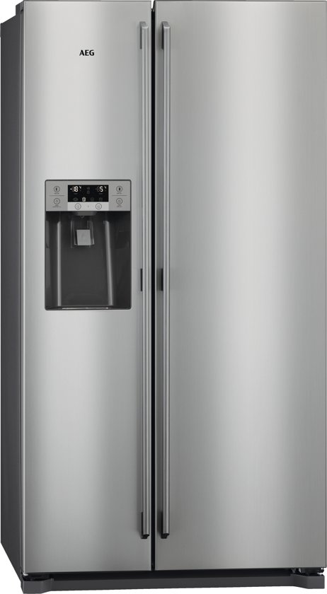 AEG RMB56111NX - Amerikaanse koelkast - RVS