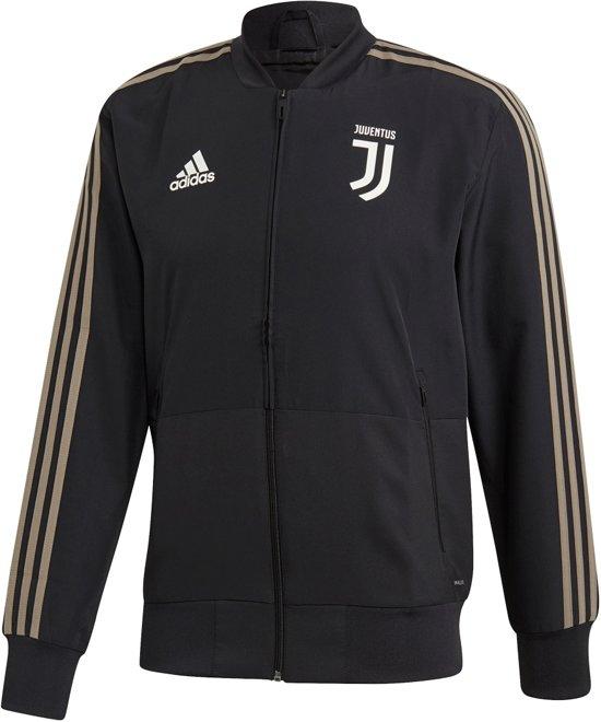 c44f6991318 adidas Juventus Pre Sportjas performance - Maat L - Mannen - zwart/grijs