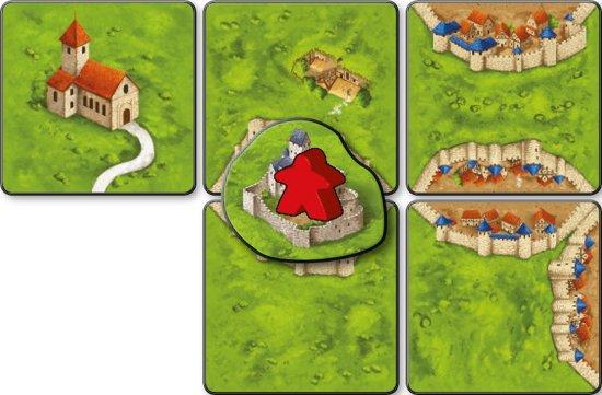 Carcassonne: Bruggen, Burchten en Bazaars Bordspel