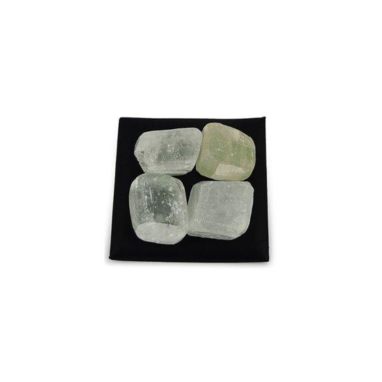 Trommelstenen Calciet Wit (20-30 mm) - 100 gram