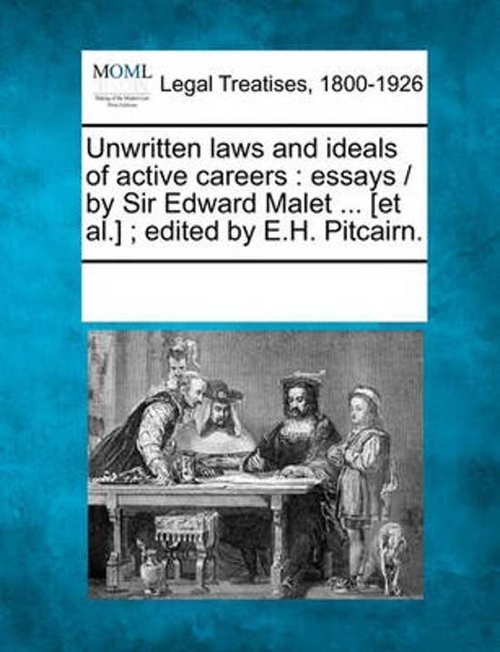 Unwritten Laws and Ideals of Active Careers