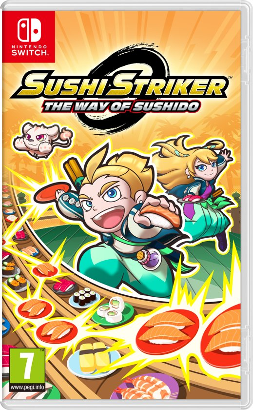 Sushi Striker: The Way of Sushido Switch