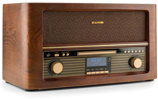 Auna Belle Epoque 1906 Retro Radio CD Speler DAB+