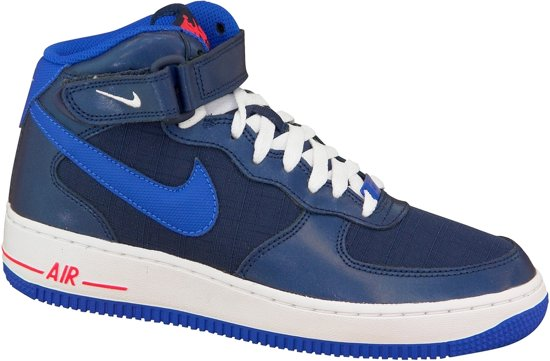 buy popular 6a61f e7af7 Nike Air Force 1 Mid Gs 314195-412, Vrouwen, Blauw, Sneakers maat