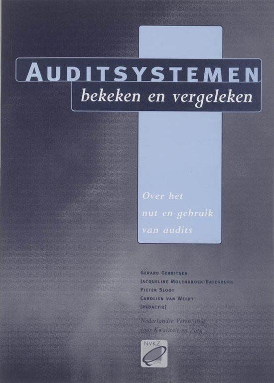 Auditsystemen, bekeken en vergeleken