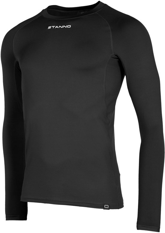 Stanno Functional Sports Thermo Longsleeve  Sportshirt performance - Maat L  - Unisex - zwart
