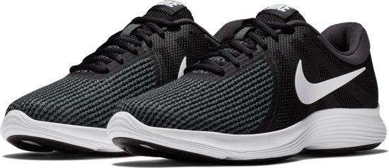 Nike Revolution 4 EU Hardloopschoenen Dames - Black/White-Anthracite