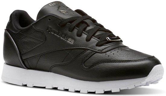 fb40669d663 bol.com | Reebok Sneakers Classic Leather Hw Dames Zwart Maat 37.5