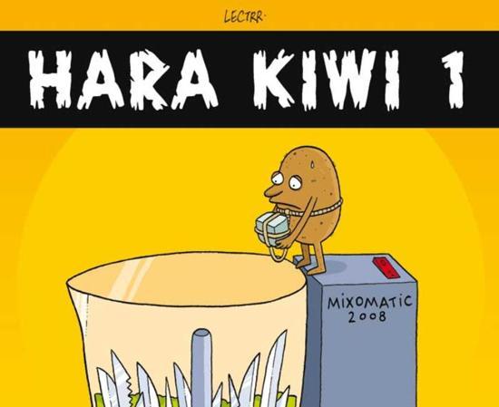 Cover van het boek 'Hara Kiwi / 1' van S. Degryse en J.-P. Arends