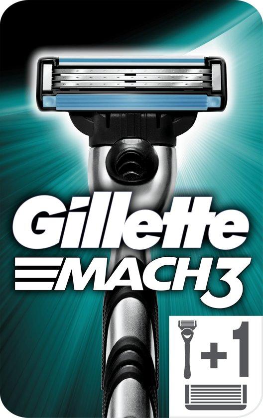 Gillette Mach 3 Power - 8 stuks - Scheermesjes