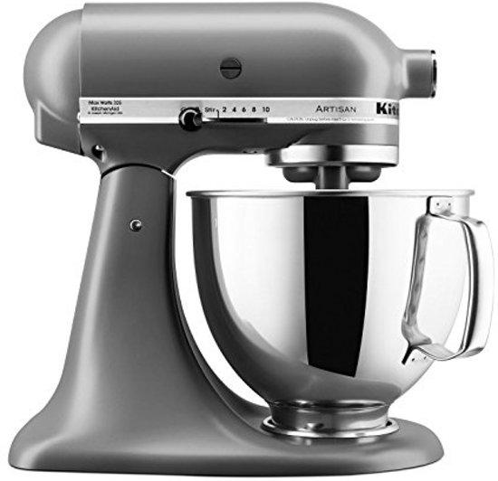 KitchenAid Artisan 5KSM150PSEFG - Keukenmachine - Mat grijs