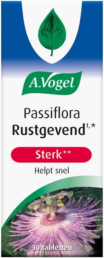 A.Vogel Passiflora rustgevend extra sterk - 30 Tabletten - Voedingssupplement - 30 Tabletten - Voedingssupplementen