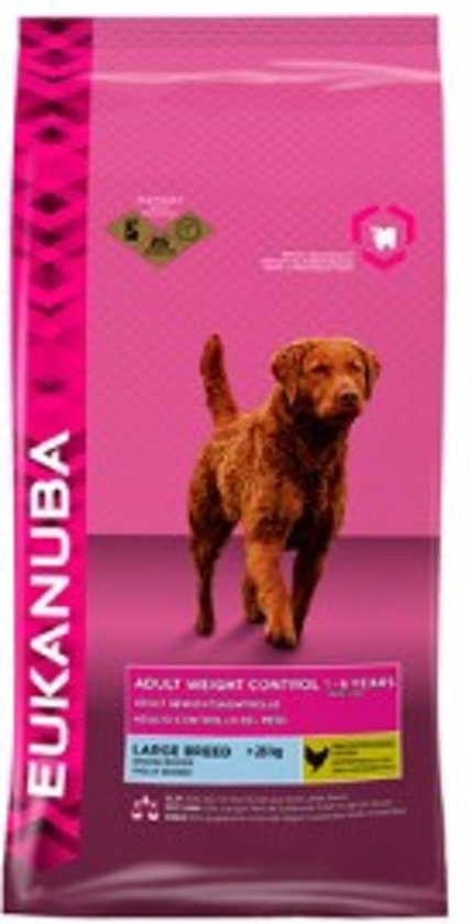 Eukanuba Dog Adult - Large Breed - Weight Control - Hondenvoer - 3 kg