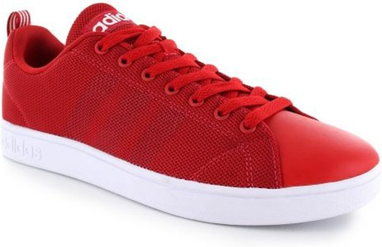 Heren en Dames Adidas Neo Cloudfoam Advantage Clean Wit