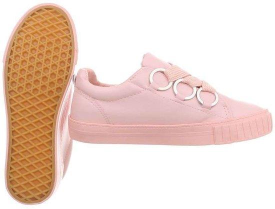 Damesschoen – Sneaker Roze - Pink Maat 37