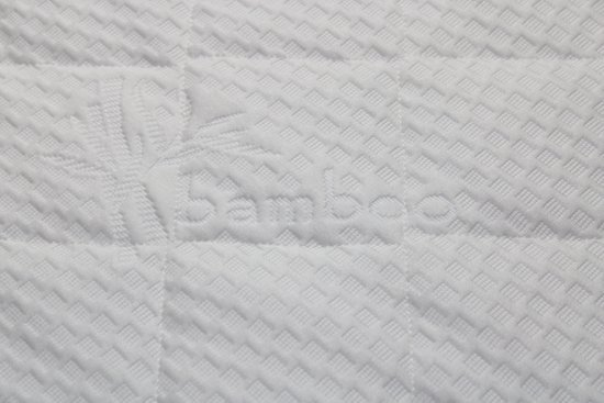 Matrassenmaker - Topmatras Bamboo 180x210x8 Koudschuim HR55 hard topper