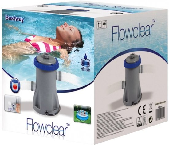 Bestway Zwembad Filter Pomp 530gal - Filterpomp