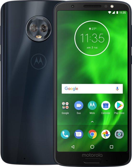 Motorola Moto G6 - 32GB - Dual Sim - Deep Indigo (blauw)