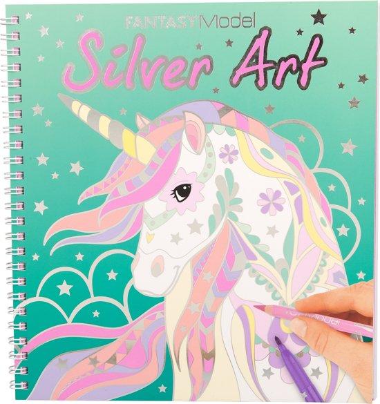 TOPModel FANTASYModel Silver Art kleurboek
