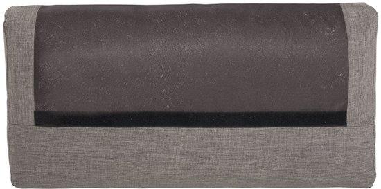 Beliani Orebro Bank Grijs polyester