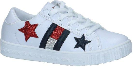 e82d8e426e2 Tommy Hilfiger Meisjes Sneakers Low Cut Lace Up Sneaker - Wit - Maat 36