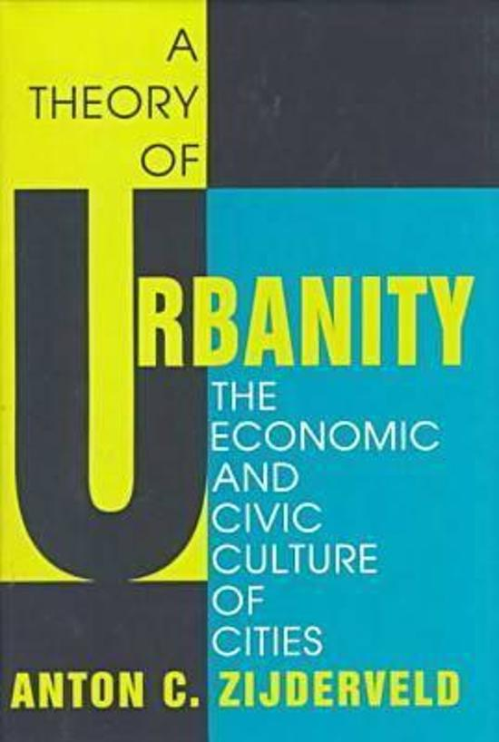 Afbeeldingsresultaat voor a theory of urbanity zijderveld