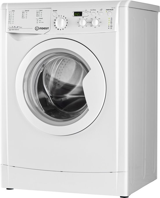 Indesit IWD 71482 B (EU) - Wasmachine
