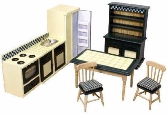 Victoriaans poppenhuis keuken meubels for Meubels poppenhuis