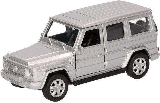 Speelgoed zilveren Mercedes-Benz G-Class speelauto 12 cm - modelauto / auto schaalmodel