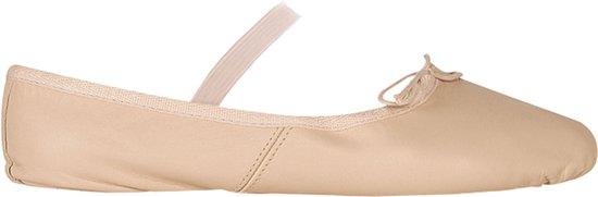 Papillon Leather Balletschoen Balletschoenen - Maat 28.5 - Unisex - roze
