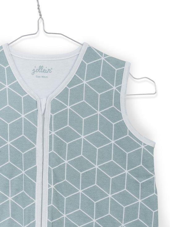 Jollein Graphic Slaapzak zomer 70cm jersey stone green