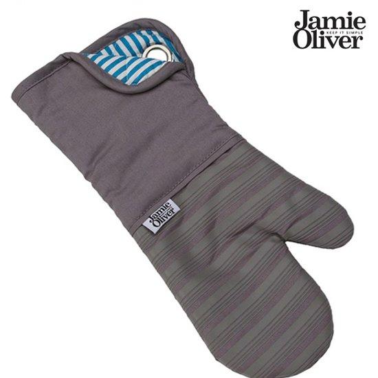 Jamie Oliver ovenwant - Oven handschoen - Anti-slip - Antraciet / Grijs