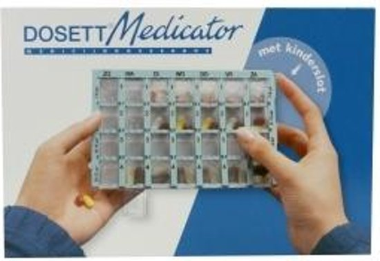Dosett Medicator Dos Box