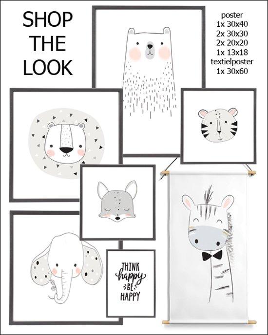 Kinderkamer Kinderkamer Wanddecoratie : Bol.com fiep westendorp xl poster reuze giraffe
