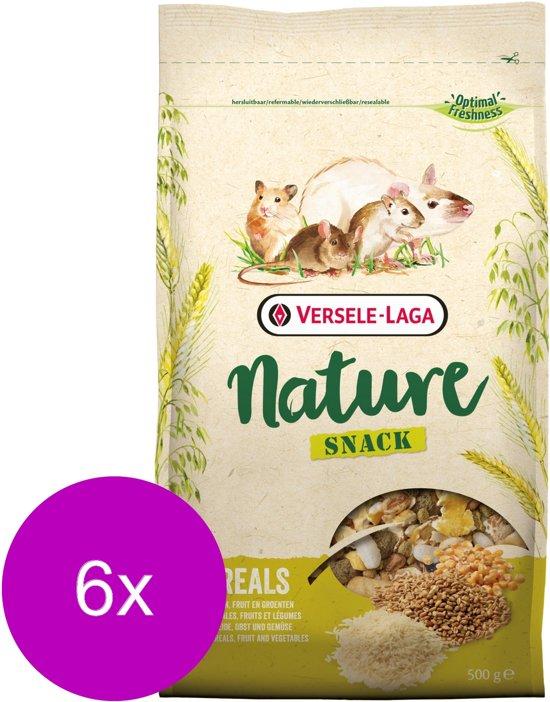 Versele-Laga Nature Snack Cereals Granen - Knaagdiersnack - 6 x 500 g