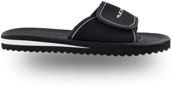 Zwart 44 Rucanor Bad Unisex Maat wit Slippers F1q7X