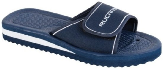 44 Rucanor Maat Unisex Zwart Bad wit Slippers qAATIB