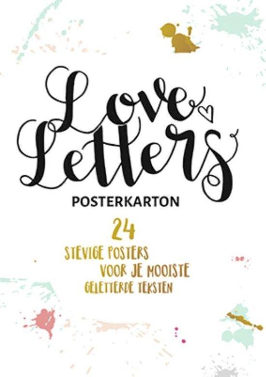 Loveletters posterkarton