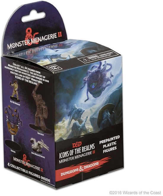 Afbeelding van Dungeons & Dragons Icons of the Realms Monster Menagerie II speelgoed