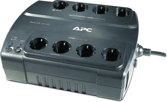 APC Back-UPS BE700G-GR - Noodstroomvoeding / 8x stopcontact / USB / 700VA