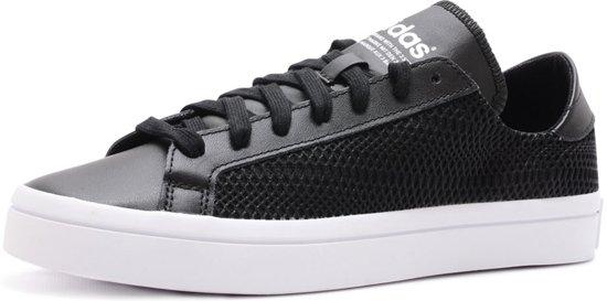 5353beca096 bol.com | Adidas Zwarte Dames Sneakers CourtVantage - Damesschoenen ...